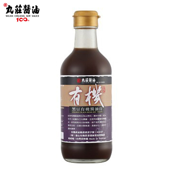 丸莊.黑豆有機醬油膏350g/瓶(共2瓶)﹍愛食網