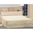 床架 AT-63-11A 白橡3.5尺雙人床 (床頭+床底)(不含床墊) 【大眾家居舘】