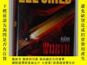二手書博民逛書店英文原版罕見Worth Dying For by Lee Chi