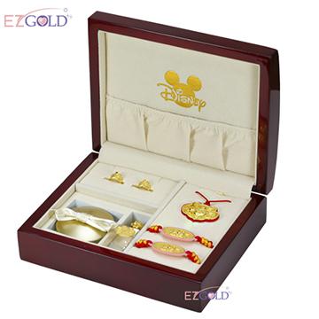 迪士尼系列金飾-彌月金飾禮盒-富貴米奇款