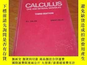 二手書博民逛書店CALCULUS罕見ONE AND SEVERAL VARIAB