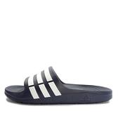 Adidas Duramo Slide [g15892] 男女 運動 涼鞋 拖鞋 休閒 舒適 輕量 深藍