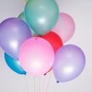 氣球 10吋乳膠氣球 珠光氣球 亞光氣球 道具 佈置 派對 氣球夾 派對乳膠氣球(圓)【N310】生活家精品