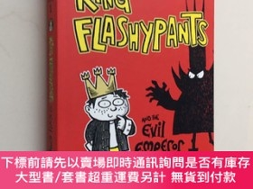 二手書博民逛書店King罕見Flashypants and The Evil Emperor book1 國王浮華和邪惡的皇帝 英