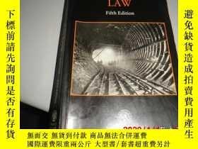 二手書博民逛書店CONSTRUCTION罕見LAW Fifth Edition【