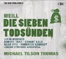 歌劇殿堂 80 泰懷爾:七大罪 CD V.A. Weill The Seven Deadly Sins and Th