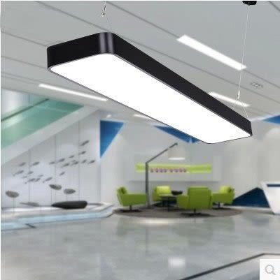 LED辦公室吊燈 長方形圓角 150*30【藍星居家】