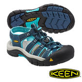 Keen Newport H2 女 護趾水陸兩用鞋 深藍/粉藍 1014199