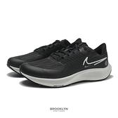 NIKE 慢跑鞋 ZOOM PEGASUS 38 小飛馬 黑白 防潑水 訓練 男 (布魯克林) DC4073-001