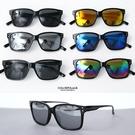 潮流細版銀點方型膠框太陽眼鏡NY431