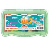 飛龍 12色PP盒特大粉蠟筆GHTP-1【愛買】