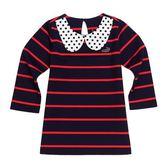 『小鱷魚童裝』圓點領條紋洋裝(10號~16號)338310