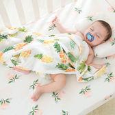 嬰兒抱被夏季紗布包巾襁褓竹棉蓋毯裹布