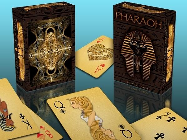 【USPCC 撲克】Pharaoh Playing Cards 法老王撲克牌