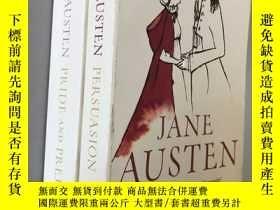 二手書博民逛書店PERSUASION罕見+ PRIDE AND PREJUDICEY5919 Jane Austen PENG