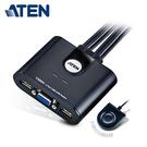 【ATEN 宏正】2埠 USB KVM 多電腦切換器 (CS22U)