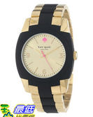[美國直購 USAShop] 手錶 kate spade new york Women s 1YRU0161 Gold Black Skyline Watch $8930