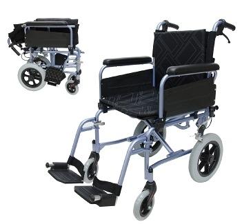 輕便移位式看護型輪椅 必翔 PH-163B 總寬51cm