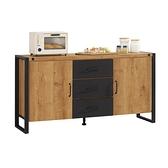 布朗克斯5尺餐櫃(21CM/934-3)/H&D東稻家居