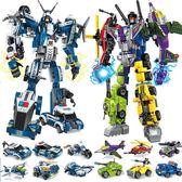 兼容積木男孩子幻影忍者機器人玩具7變形金剛8益智拼裝6歲10