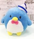 【震撼精品百貨】Tuxedo Sam Sanrio 山姆藍企鵝~絨毛鎖圈/吊飾*56381