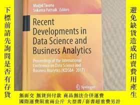 二手書博民逛書店Recent罕見Developments in Data Science and Business Analyti