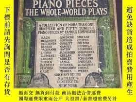 二手書博民逛書店《Children's罕見piano pieces the whole world plays》鋼琴樂譜Y19