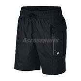 Nike 短褲 Cargo Shorts 黑 男款 大口袋 工作褲 運動休閒 【ACS】 AR2374-010