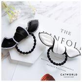 Catworld 韓系兔耳朵髮圈【17001590】‧F*特價