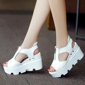 高跟女鞋坡跟鬆糕涼鞋女學生鞋【一周年店慶限時85折】