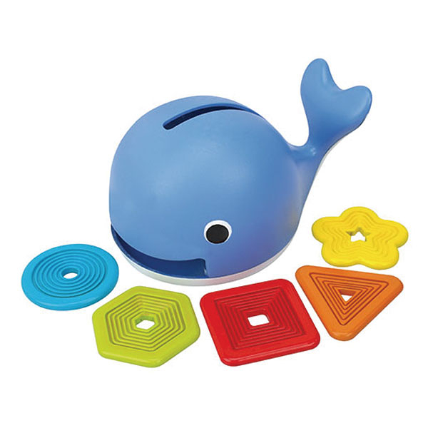 《K's Kids奇智奇思》愛吃形狀的鯨魚Feed the Whale