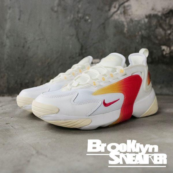 NIKE WMNS ZOOM 2K 白 粉紅漸層 慢跑鞋 女 (布魯克林)  AO0354-102 | 慢跑鞋 |