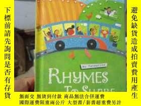 二手書博民逛書店My罕見Favourite Rhymes to ShareY15