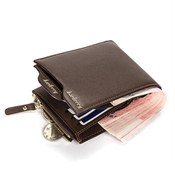男包包 現貨 baellerry男款短皮夾 卡位可抽離 兩色四款 D0888 寶來小舖