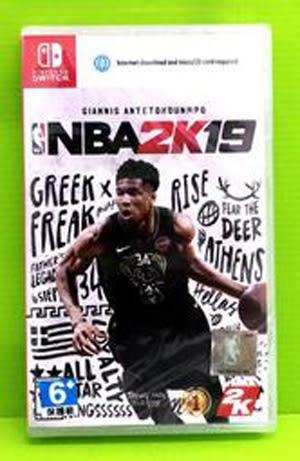 NS 美國職業籃球 NBA 2K19 中文版