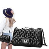 小包包2018春夏上新款潮韓版時尚女包菱格鏈條包迷你女單肩斜挎包『潮流世家』