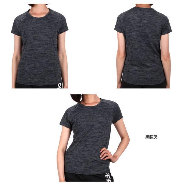 FIRESTAR 女彈性短袖圓領T恤(慢跑 路跑≡體院≡