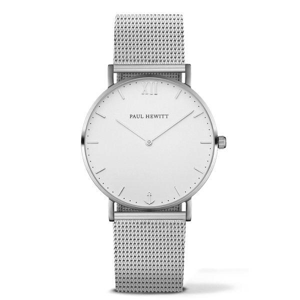 【Paul Hewitt】/德國船錨錶-39mm(女錶 手錶 Watch)/PH-SA-S-St-W-4M/台灣總代理原廠公司貨兩年保固