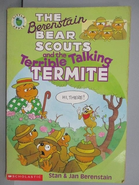 【書寶二手書T8/原文小說_LAD】The Berenstain Bear Scouts and the…Termite