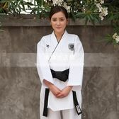 跆拳道服成人白色LG-3206
