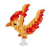 《 Nano Block 迷你積木 》【 神奇寶貝系列 】NBPM_047 火焰鳥╭★ JOYBUS玩具百貨