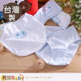 純棉內褲(四件一組)  台灣製中大女童青少女抗菌防臭健康內褲 魔法Baby
