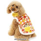 【PET PARADISE 寵物精品】DISNEY 奇奇蒂蒂格紋刷毛外套(4S/3S/DSS/SS/DS/S) 秋冬新品 寵物衣服