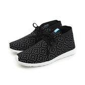 native APOLLO CHUKKA EMBROIDERED 阿波羅鞋 休閒 黑色 圖案 男鞋 女鞋 21100506-8170 no437