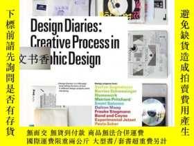 二手書博民逛書店Design罕見Diaries: Creative Proces