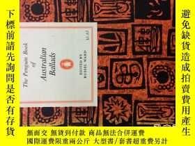 二手書博民逛書店Australian罕見Ballads186875 pengui