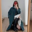 2019秋冬新款韓版流行洋氣英倫風毛呢大衣女中長款斗篷呢子外套