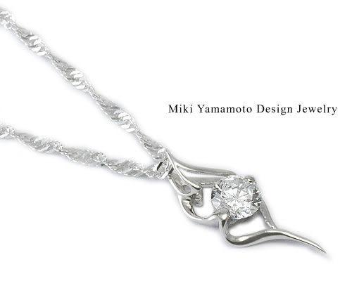 山本美樹 永恆 奧地利水晶純銀項鍊