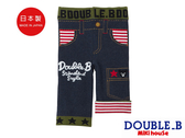 DOUBLE_B     黑熊8分反摺包屁褲