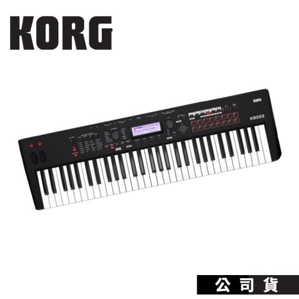 【南紡購物中心】合成器KORG Kross2 61鍵 啞光黑色